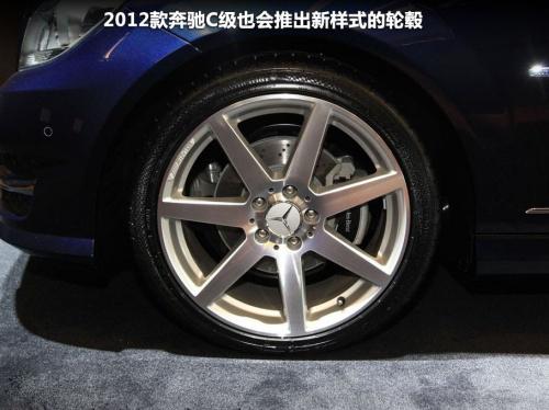 更年轻更时尚 图解2012款奔驰C200 CDI