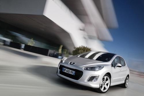 日内瓦车展首发 新款标致308官方图发布