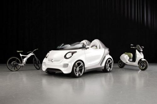 日内瓦发布 smart发布Forspeed概念车