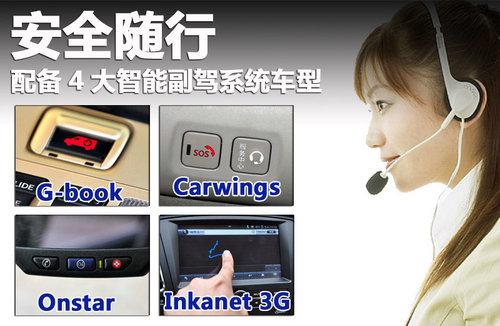 安全随行 配备4大智能副驾系统车型推荐