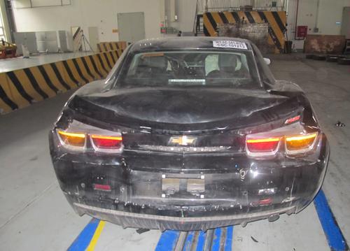 曝国内碰撞测试 雪佛兰Camaro即将上市高清图片