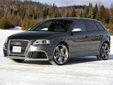 雪地速降 试2011款奥迪RS 3 Sportback