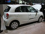 配1.2T发动机 日产玛驰DIG-S亮相车展