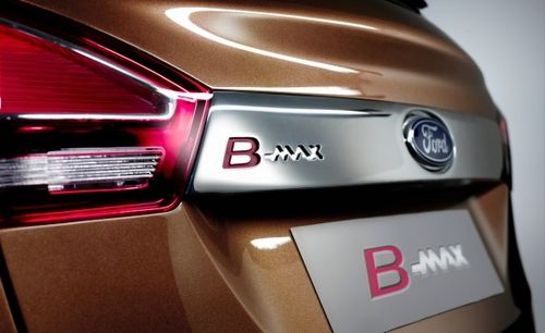 嘉年华跨界版 福特B-MAX官图正式发布