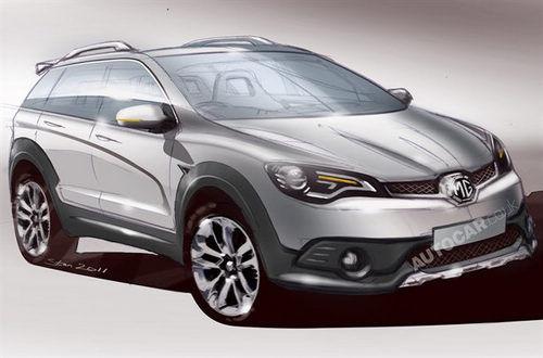 有望明年问世 曝上海汽车MG SUV描绘图