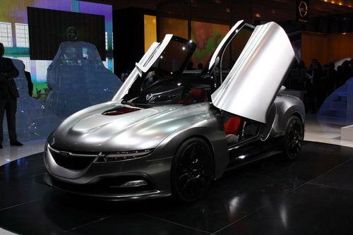 0.25风阻 萨博发布全新PhoeniX概念车