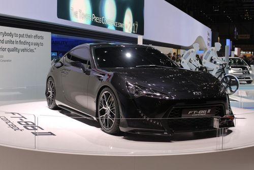 确定明年推出 丰田FT-86 II概念车发布