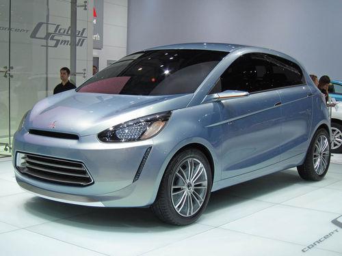 明年投入量产 三菱CGS概念车首发亮相