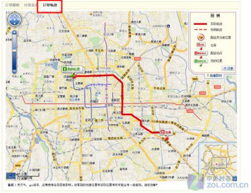 有趣的物流 京东上线gis跟踪查单系统