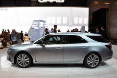 将于年底上市 新萨博9-5旅行版亮相车展