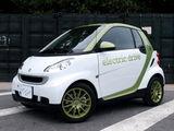 零排放小车 电动版smart明年初将上市