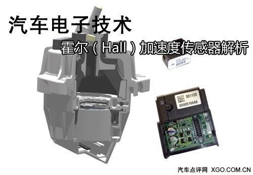 汽车技术 霍尔(Hall)加速度传感器