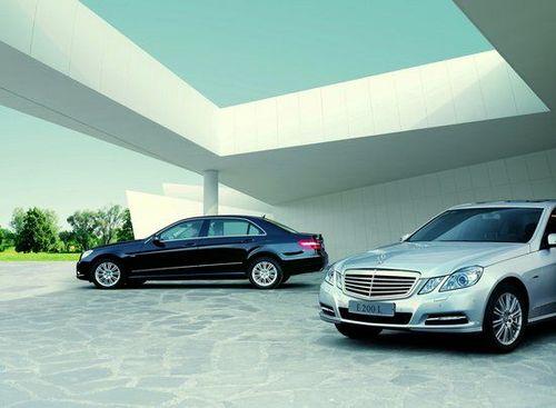 售价46.5万 奔驰E200L CGI优雅型上市
