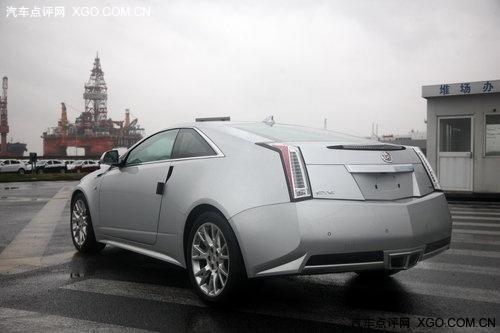 将亮相车展 凯迪拉克CTS Coupe正式抵沪