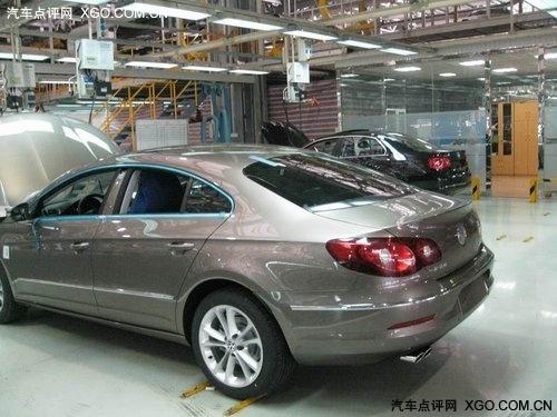 新增5座/1.8TSI动力 2011款CC正式下线