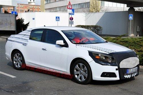与君威同平台 全新Malibu上海车展首发