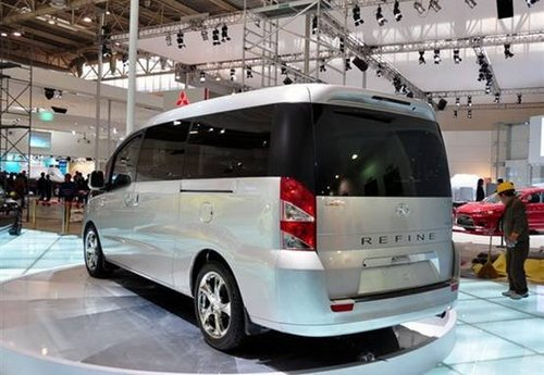 定位高端MPV 瑞风和畅于上海车展上市