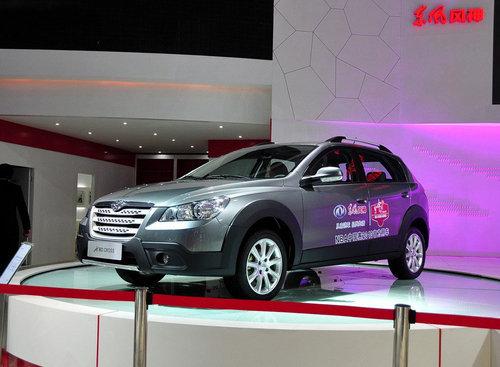 售9-11万 风神H30 CROSS上海车展上市