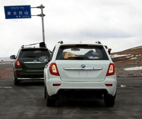 车展上市/售8-10万 力帆SUV定名为X60