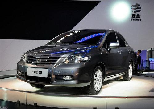 理念s1的官方数据,但从广州车展的亲身接触来看,它与本田思迪高清图片