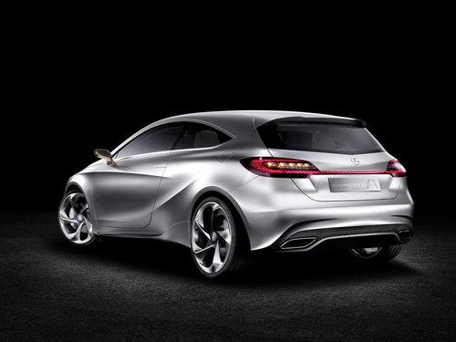上海车展首发 奔驰发布新一代A级概念车