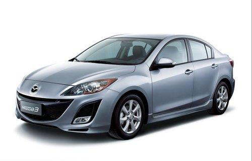 上海车展首发 国产新Mazda3三厢再曝光