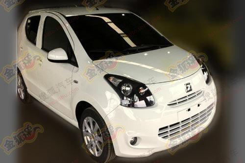 外形模仿奥拓 众泰微型车上海车展首发
