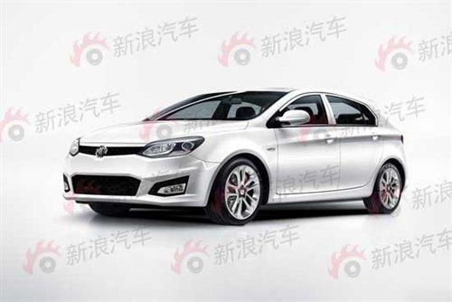 上海车展亮相 上汽MG5清晰路试照曝光
