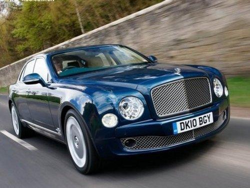 或2013年亮相 宾利将推出慕尚Coupe车型
