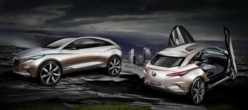 于4月18日发布 别克SUV愿景设计图曝光