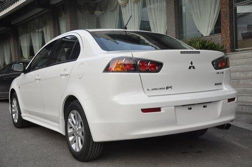配置升级 2011款三菱翼神上海车展首发