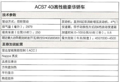 上海车展亮相 AC宝马国内首款黑金7系