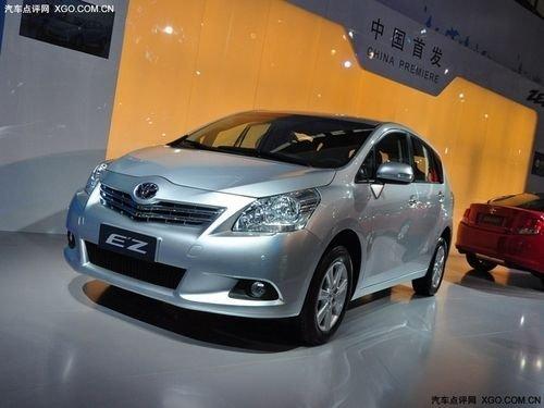 将推六款车型 广汽丰田逸致4月17日上市