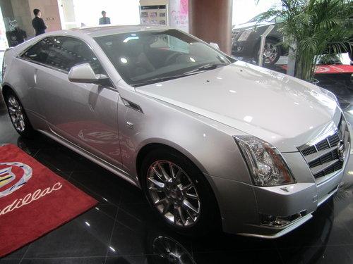 上海车展上市 凯迪拉克CTS Coupe现身
