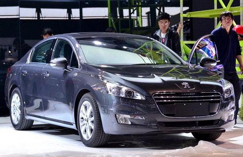 上海车展探馆 东风标致508即将国内首发