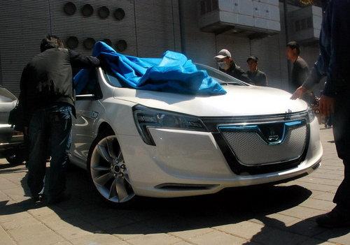 上海车展探馆 纳智捷Neora概念车将首发