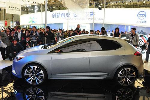2011上海车展 上汽MG5概念车正式发布
