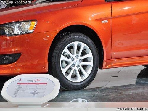 2011上海车展 新款三菱翼神正式发布