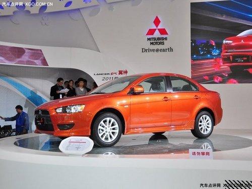2011上海车展 新款三菱翼神正式上市
