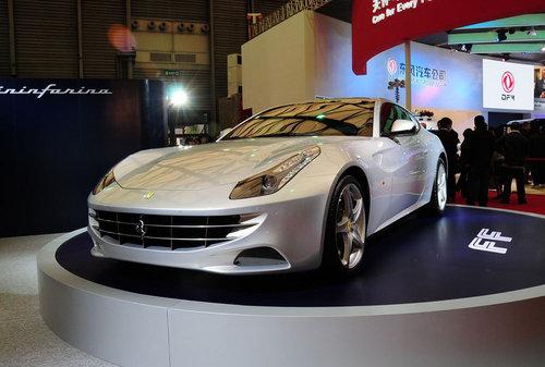 2011上海车展 法拉利FF亮相上海车展!