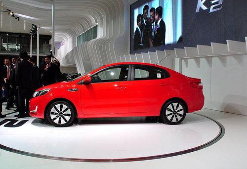 2011上海车展 东风悦达起亚K2三厢发布