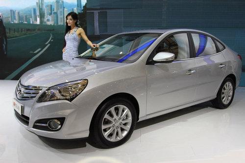 2011上海车展 新款悦动亮相现代展台
