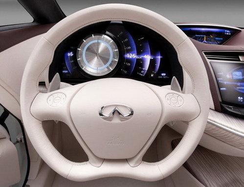 英菲尼迪Etherea概念车上海车展首发