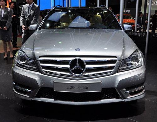 2011上海车展 奔驰改款C级亚洲首次亮相