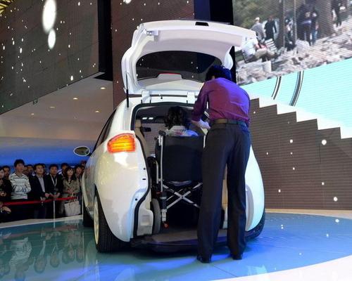 2011上海车展 吉利魔卡概念车正式发布