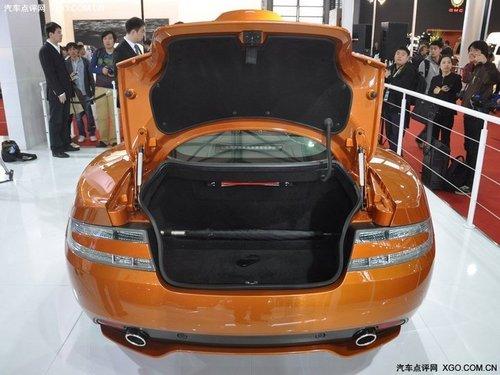 2011上海车展 阿斯顿马丁Virage首发