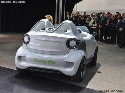 2011上海车展 smart forspeed国内首发