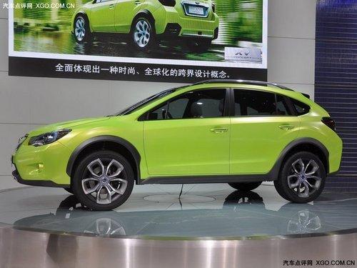 2011上海车展 斯巴鲁XV概念车全球首发