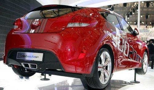 2011上海车展 现代Veloster正式首发!
