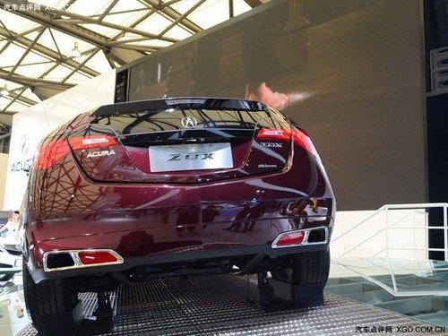 2011上海车展 讴歌ZDX本届车展正式发布